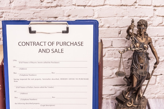 Form of contract for the sale of movable property