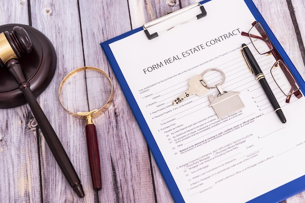 Form for the purchase and sale of real estate sample of the signature of the contract for the purcha...
