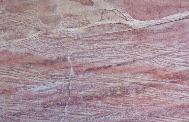 赤い岩の形成