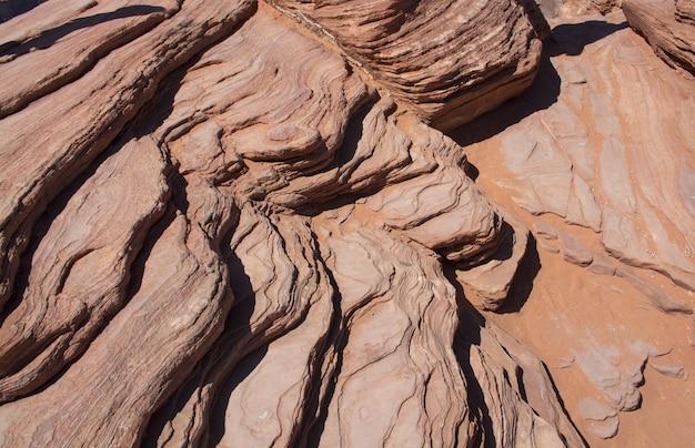 岩の背景パターンテクスチャの形成