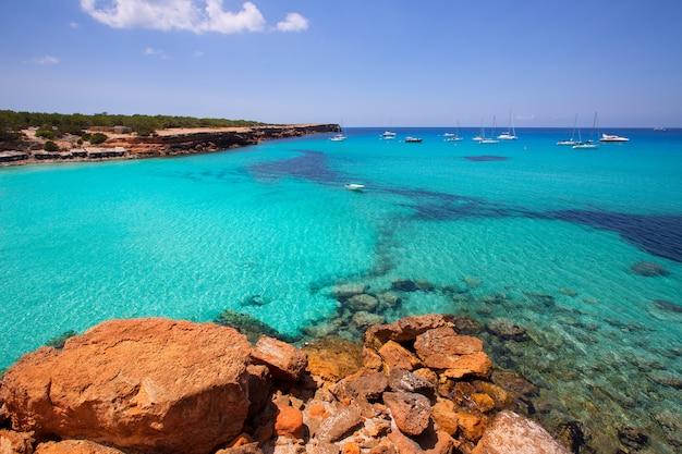 Formentera cala saonaビーチバレアレス