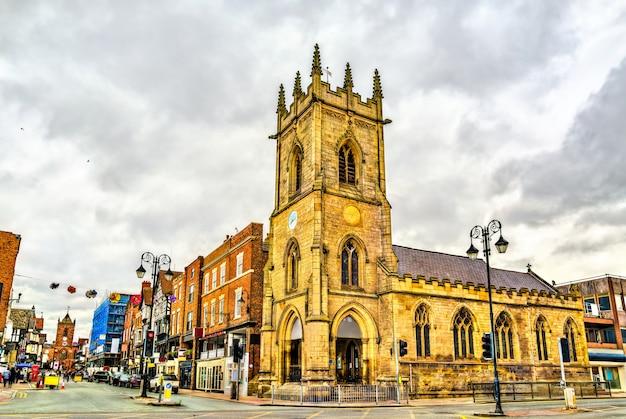 Бывшая церковь святого михаила в честере чешире, англия