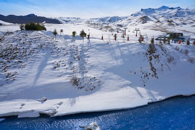 Formigal ski area in huesca pyrenees spain