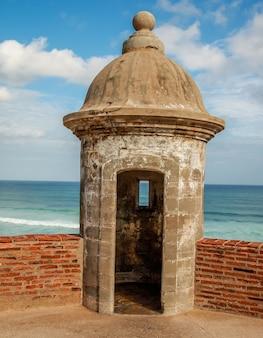 Fort san cristobal sentry box