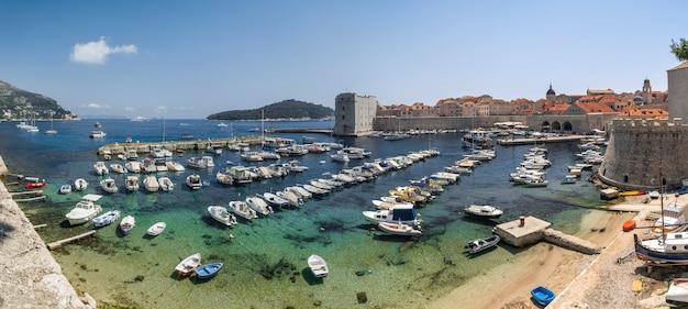 Fort st. ivana in dubrovnik, croatia