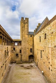 カルカソンヌの要塞-フランス、ラングドック・ルシヨン