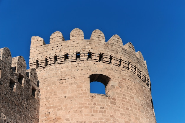 The fortress in baku city