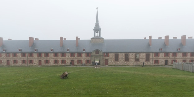 Fortress of louisbourg, louisbourg, cape breton island, nova scotia, canada