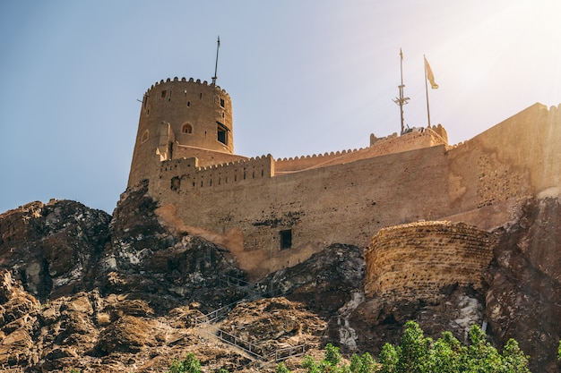 Fortress in muscat, oman