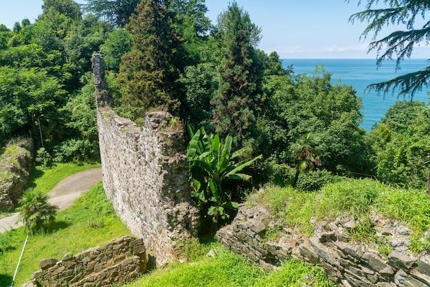 Крепость петра в аджарии, грузия