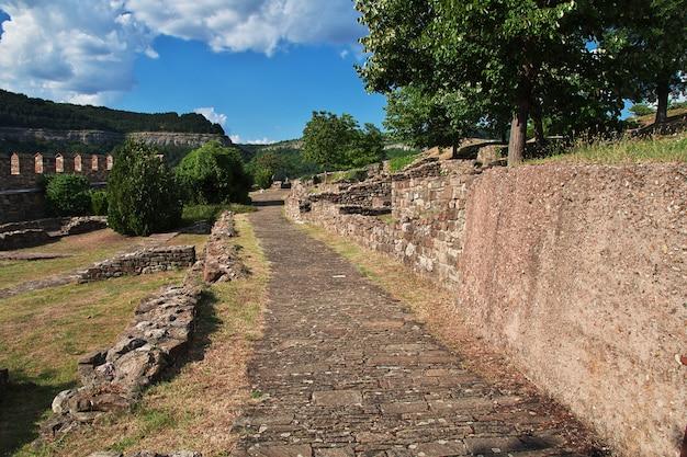 The fortress in veliko tarnovo, bulgaria