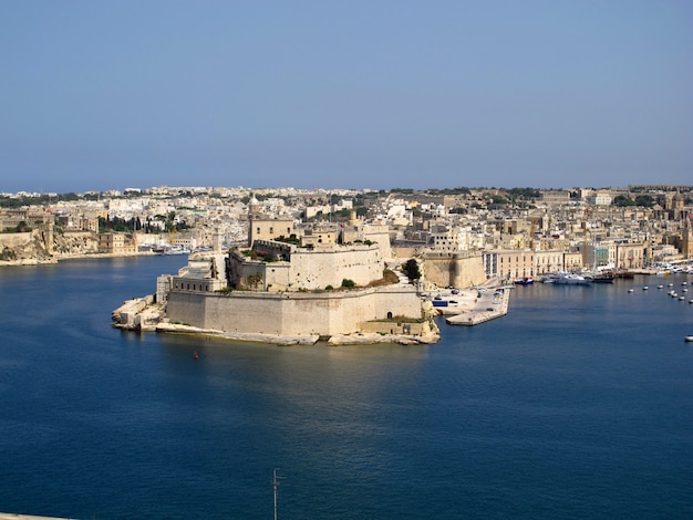 The fortress in victorious, malta