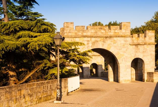 Muro di fortezza a pamplona