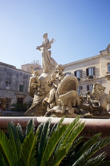 Fountain of artemis, syracuse