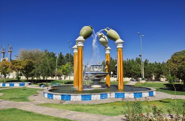 The fountain in meybod iran