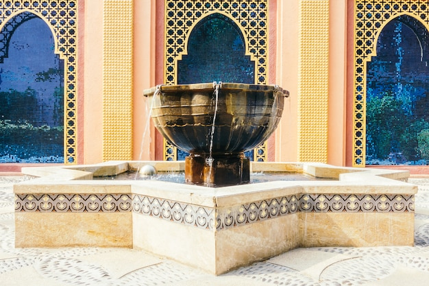 Fountain morocco