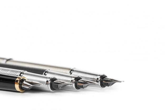 Fountain pen isolated