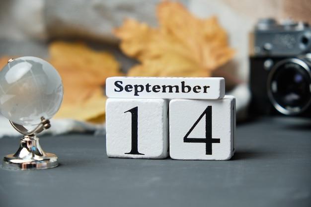 Четырнадцатый день осеннего календарного месяца сентябрь