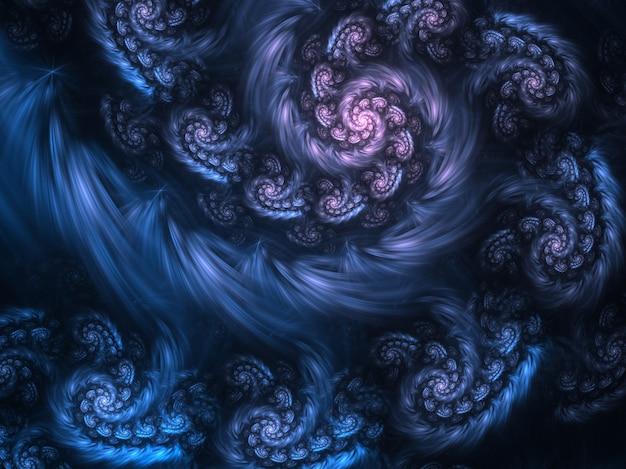Fractal art background for creative design.