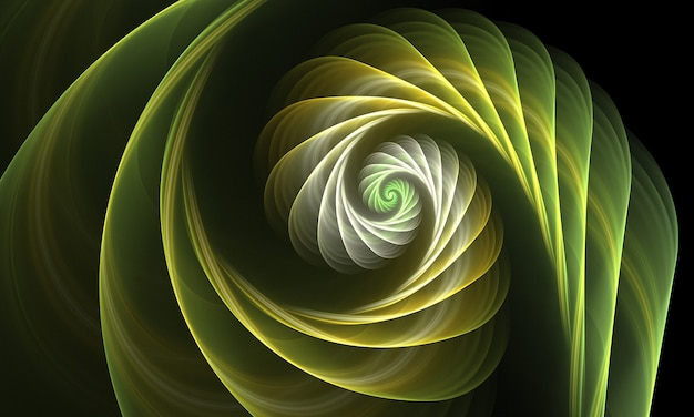 Fractal art background for creative design.