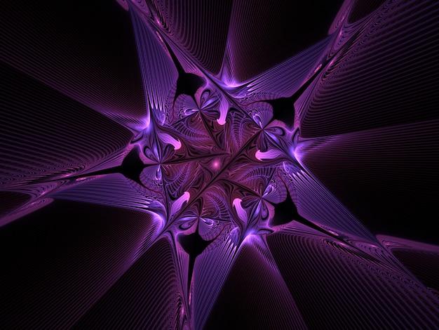Fractal star  background