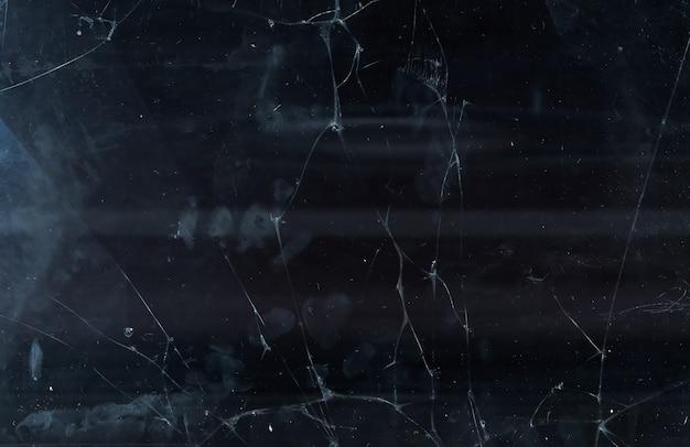 Трещина накладки. расфокусированный треснувший экран.
