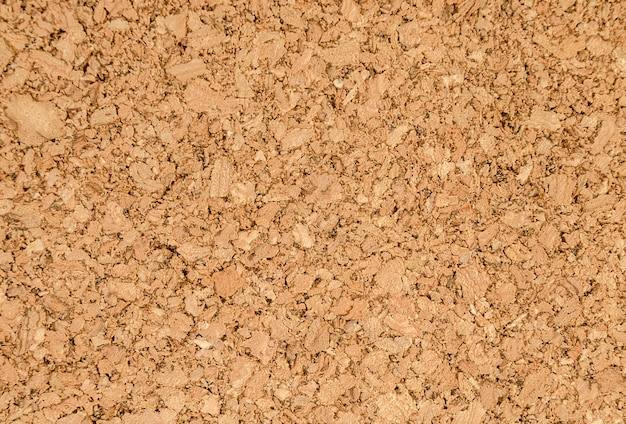 Fragment of a brown cork texture.