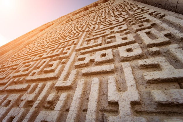 큰 모스크 이슬람 종교의 조각 세부 정보