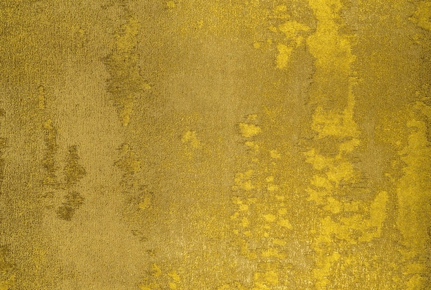 ゴールドのテクスチャとカラフルなレトロなタペストリーテキスタイルパターンのフラグメント