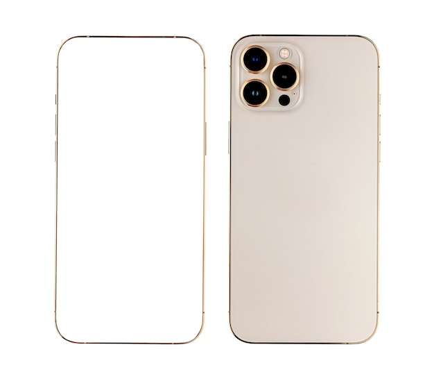 Frame and back of smartphone