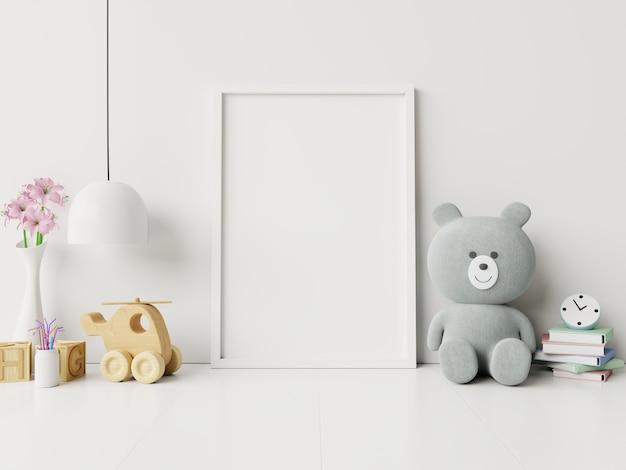 Frame in childrens room,kids room,nursery.