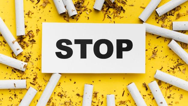 Cornice di sigarette