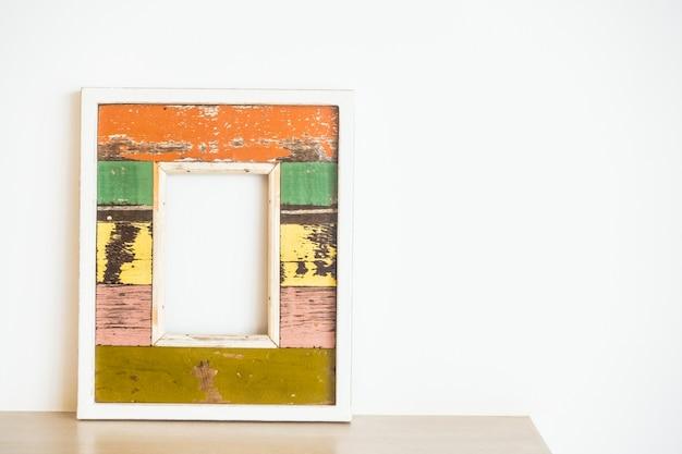 Frame on a desk