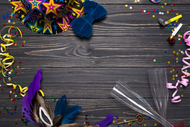 Frame from carnival supplies