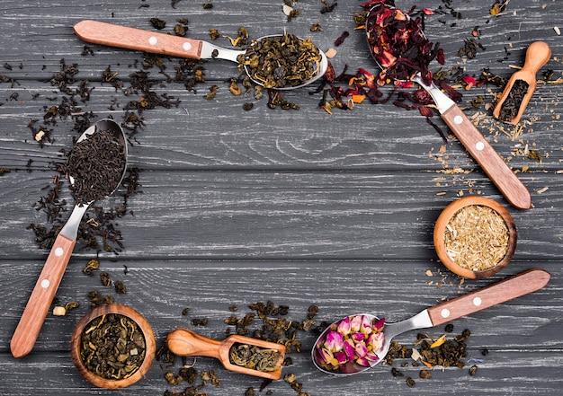 Frame of herbal tea