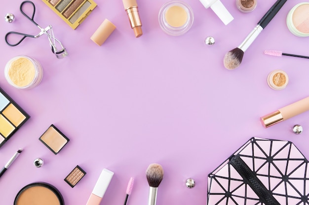 Frame of make up products