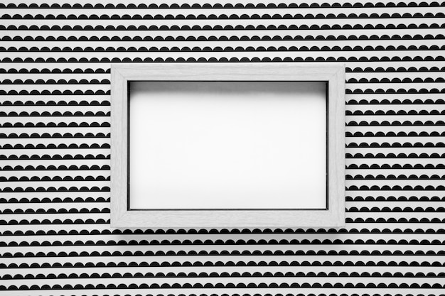 Frame mock-up with monochrome background mockup