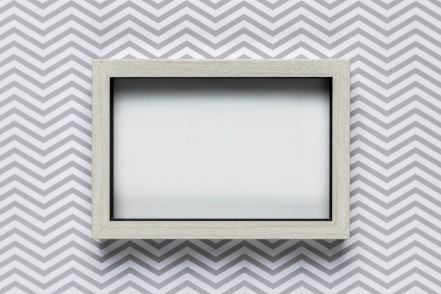 Frame mock-up with patterned background