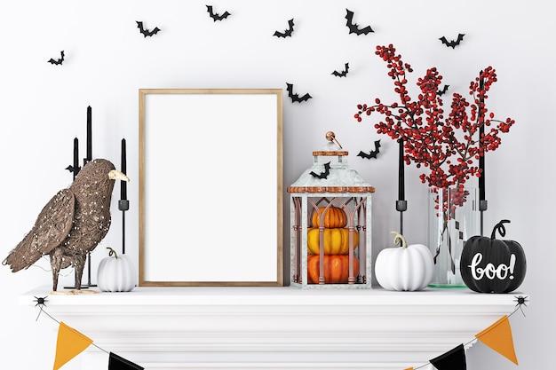 Макет рамки и хэллоуин