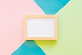 Frame on creative background
