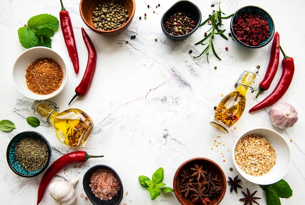 Frame of spices