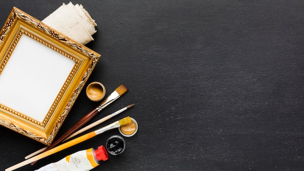 Frame and stationery paint tools