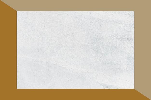 Framed concrete background