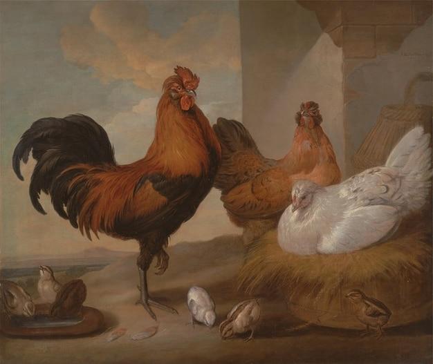 芸術フランシス油バーロウのキャンバスの絵画