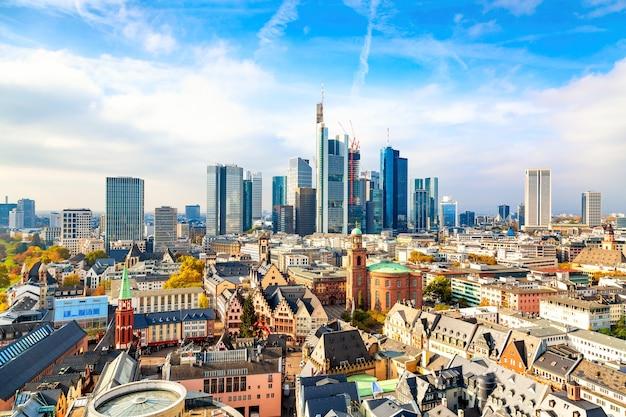 Франкфурт-на-майне городской пейзаж