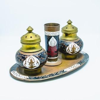 Frankincense  pinchbeck set