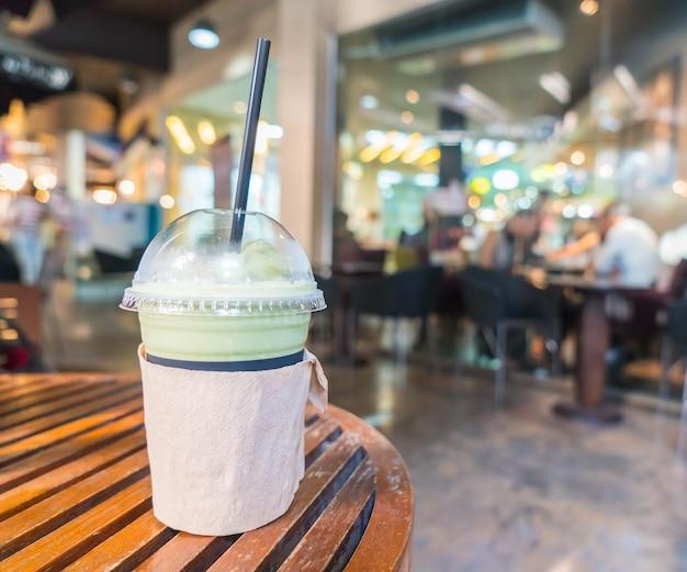 Frappuccino matcha latte