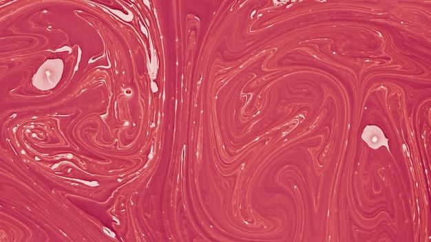 La libera circolazione dello sfondo rosso e rosa di arte astratta