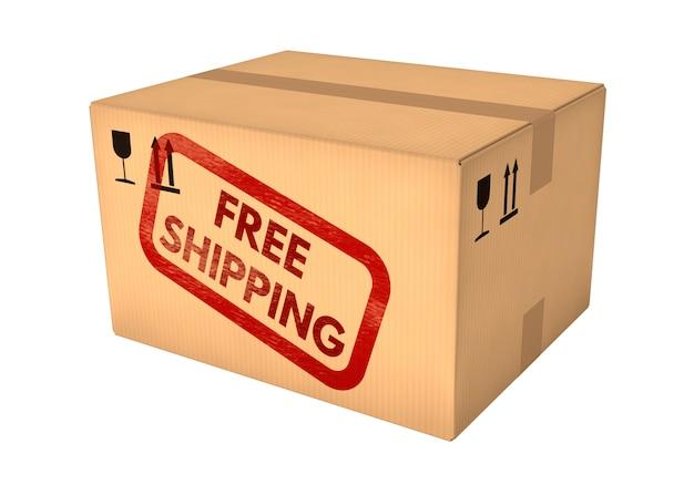 Free shipping box.