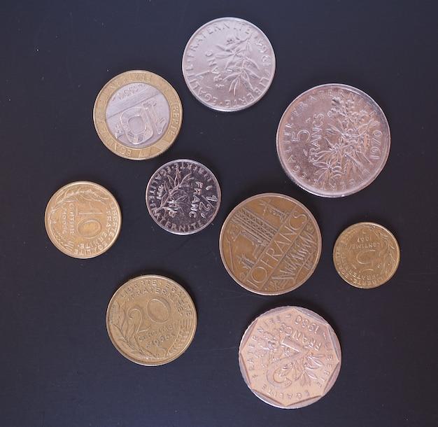 フランスフラン硬貨